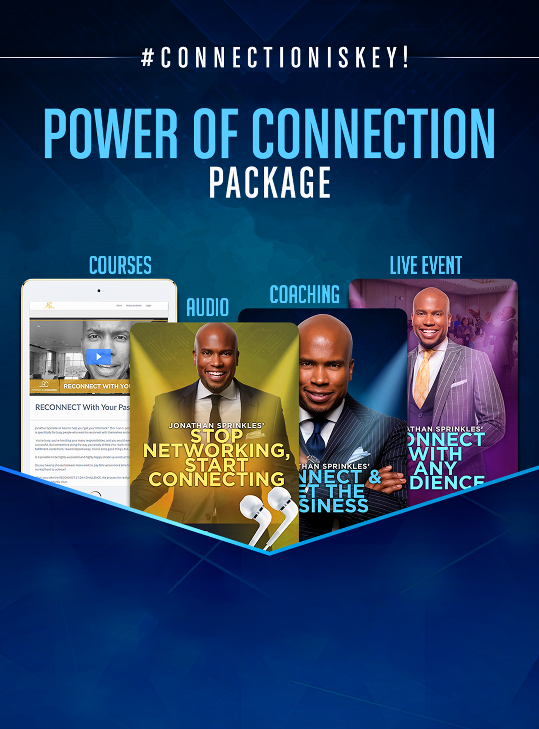 Power Of Connection Package Website
